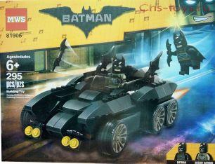 Конструктор MWS Batman  81906 (Аналог LEGO Batman Movie) 295 дет.
