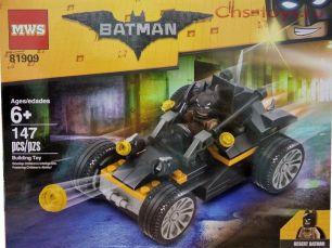 Конструктор MWS Batman Атака Бэтмобиля 81909 (Аналог LEGO Batman Movie) 147 дет.
