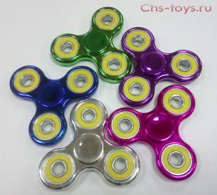 Спиннер Spinner цветной металлик