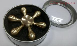 Спиннер Spinner металлический шестигранный