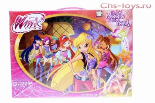 "Пазл 500 дет. Winx ""The Magic is in You!"", Origami"