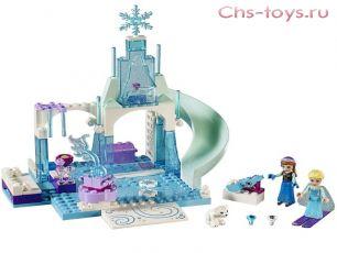 Конструктор BELA Young Kids Игровая площадка Эльзы и Анны 10665 (Аналог LEGO Juniors 10736) 100 дет.