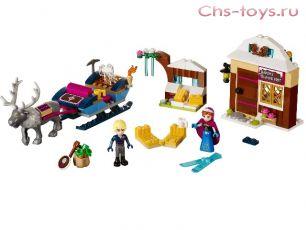 Конструктор BELA Ice Enchanted Анна и Кристоф: Прогулка на санях 10666 (Аналог LEGO Disney Princesses 41066) 180 дет.