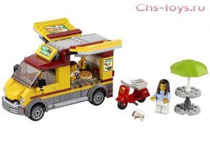 Конструктор BELA Urban Фургон-пиццерия 10648 (Аналог LEGO City 60150) 261 дет.