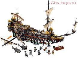 Конструктор BELA Pirates Тихая Мэри 10680 (Аналог LEGO Пираты Карибского моря 71042) 2324 дет.