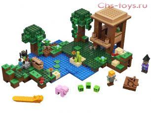 Конструктор S My World Хижина ведьмы SY923 (Аналог LEGO Minecraft 21133) 516 дет.