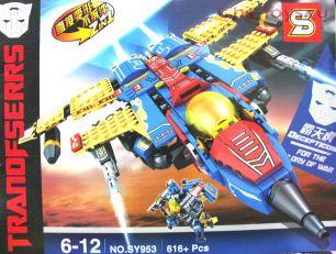 Конструктор SY Transformers Космолет SY953 616 дет.