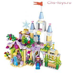 Конструктор LELE Happy Princess 37020 (Аналог LEGO Disney Princesses) 8 шт.