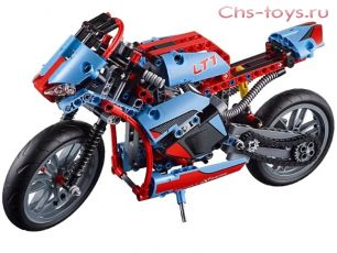 Конструктор LELE Technology Спортбайк 38020 (Аналог LEGO Technic 42036) 578 дет.