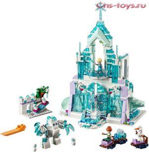 Конструктор LELE Happy Princess Волшебный ледяной замок Эльзы 37014 (Аналог LEGO Disney Princesses 41148) 711 дет.