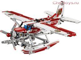 Конструктор LELE Technology Пожарный самолет 38018 (Аналог LEGO Technic 42040) 578 дет.