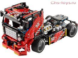 Конструктор LELE Technology Гоночный грузовик 38016 (Аналог LEGO Technic 42041) 608 дет.