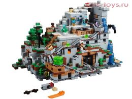 Конструктор LELE Minecraft Горная пещера 33067 (Аналог LEGO Minecraft 21137) 2052 дет.