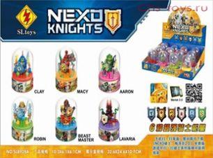 6 конструкторов SLtoys Nexo Knights SL8928A (аналог Lego Nexo Knights)
