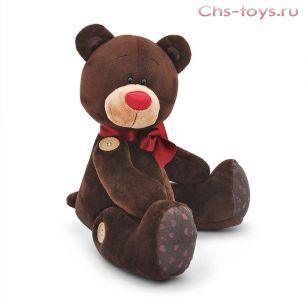 Медведь Choco сидячий с подвижными деталями 20 см, арт. C3080/20