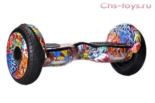 Гироскутер Smart Balance SUV (Premium) PRO 10,5 Граффити розовый Самобаланс + Музыка