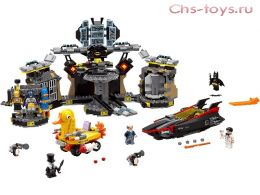 Конструктор LEPIN Batman Нападение на Бэтпещеру 07052 (Аналог Lego Batman Movie 70909) 1047 дет