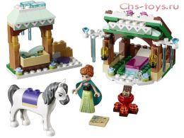 Конструктор LELE Happy Princess Зимние приключения Анны 37017  (Аналог LEGO Disney Princesses 41147) 155 дет.