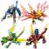 Конструкторы LELE Ninja 31048 (Аналог LEGO Ninjago) 4 шт.