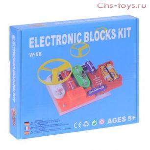 Электронный конструктор TELECOOL Electronic Blocks Kit W-58 58 схем