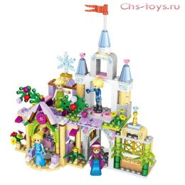 Конструктор LELE Happy Princess 37020 (Аналог LEGO Disney Princesses) 8 шт.