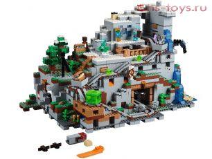 Конструктор BELA Minecraft Пещера Горная 10735 (Аналог LEGO Minecraft 21137) 2886 дет.