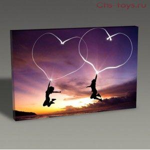 Картина по номерам Любовь Y0141