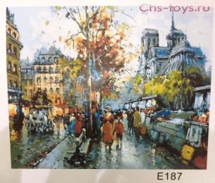 Картина по номерам Нотр-Дам E187