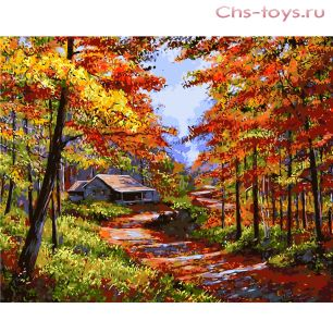 Картина по номерам Золотая осень E153