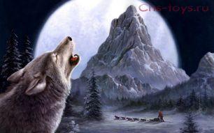 Картина по номерам Зов волка E070