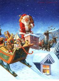 Картина по номерам Рождество E547