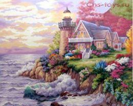 Картина по номерам Дом с маяком KTL019