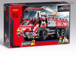 Конструктор Decool Technic Автомобиль спасательной службы 3371 (Аналог LEGO Technic 42068) 1110 дет