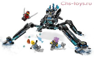 Конструктор LELE Ninja Водяной робот 31068 (Аналог LEGO Ninjago 70611) 518 дет.