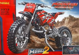 Конструктор Decool Mountain Motorcycle Мотоцикл 3373 (Аналог LEGO Technic) 253 дет