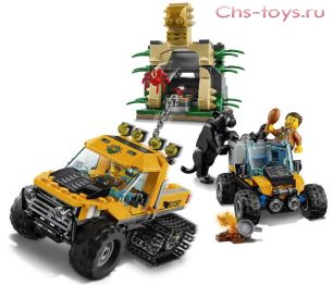 Конструктор LELE Cities Миссия Исследование джунглей 39063 (Аналог LEGO City 60159) 404 дет
